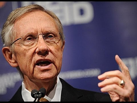 Harry Reid Wants Money Out Of Politics, But Not Really