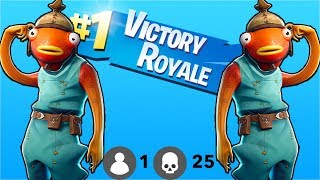 WE DRESSED UP AS FISH AND GOT A SQUAD VICTORY  | FORTNITE SQUADS