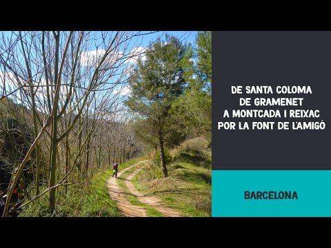 De Santa Coloma a Montcada i Reixac por la font de l'Amigó