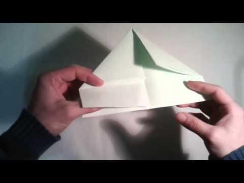 Origami para principiantes  #13 Como hacer un barquito de papel