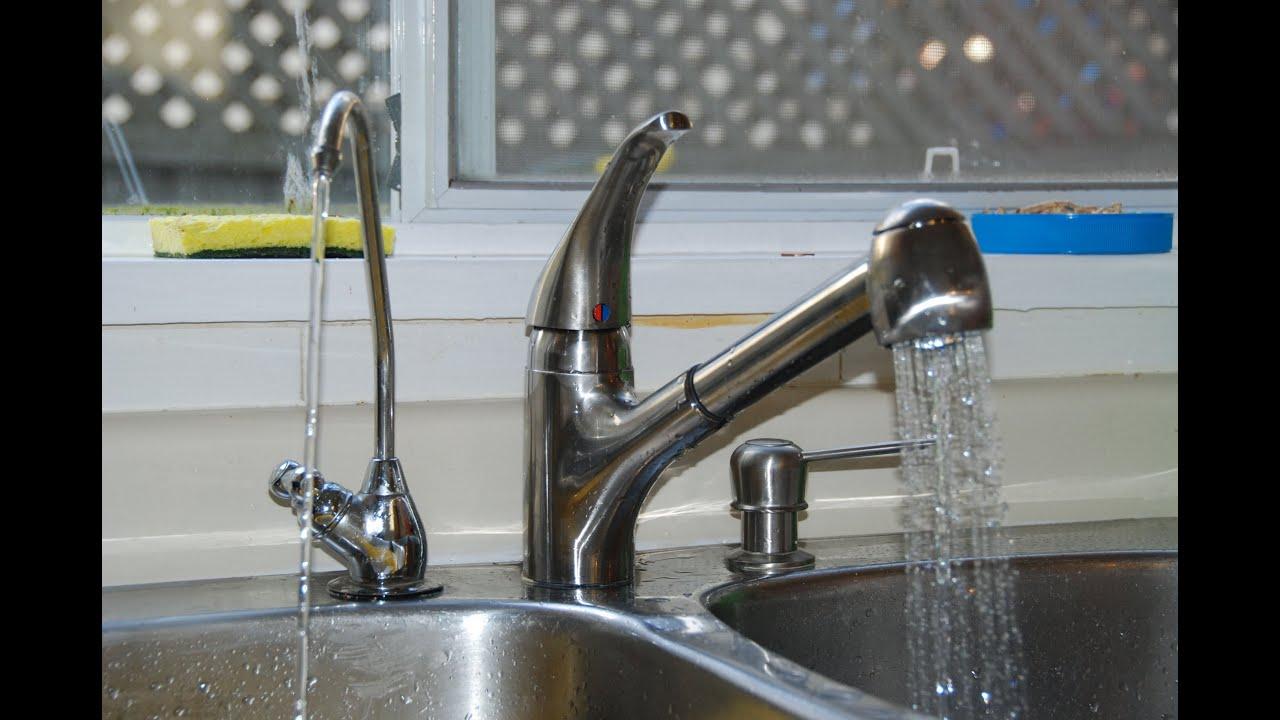 更換廚房水龍頭 一 Change Kitchen Faucet To Single Lever 1 Youtube
