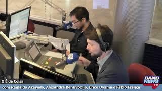 """""""O É da Coisa"""" com Reinaldo Azevedo - 12/08/2019"""