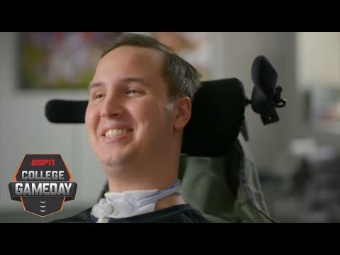 Ben Abercrombie inspiring Harvard teammates after neck injury | College GameDay