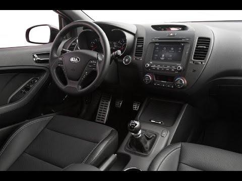 2014 Kia Forte Koup SX T GDI Exterior and Interior Design - YouTube