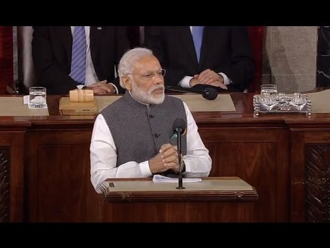 Narendra Modi's speech at Joint Meeting of US Congress