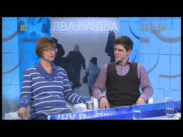 """Антон Болточко в программе Belsat TV """"Два на два"""""""