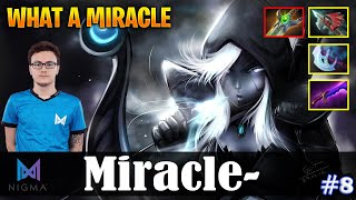 Miracle - Drow Ranger Safelane | WHAT A MIRACLE | Dota 2 Pro MMR Gameplay #8