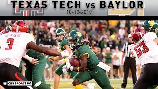 Texas Tech vs Baylor Breakdown: No. 22 Baylor needs 2 OTs to beat Texas Tech 33-30 | CBS Sports HQ