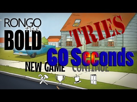 Rongo Tries Out 60 seconds! The Nuclear Disaster Survival Simulator!