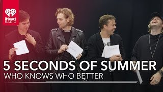 Download Lagu Can 5 Seconds Of Summer Name All Their Dogs? | Who Knows Who Better Gratis STAFABAND
