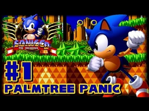 Sonic CD PC - (1080p) Part 1 - Palmtree Panic