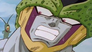 I switched Perfect Cell's Voice with Plankton's
