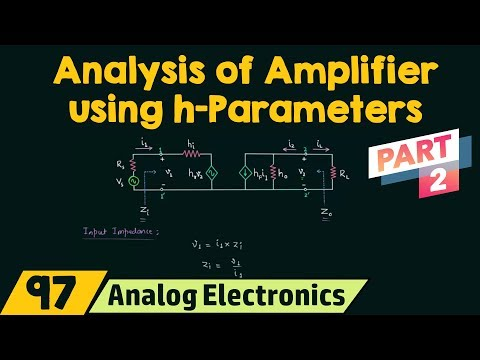 Analysis of Transistor Amplifier Using h-Parameters (Part 2) thumbnail