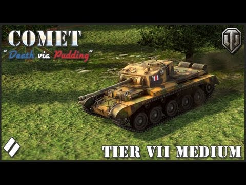 World of Tanks: Comet Tier VII British Medium Tank Review
