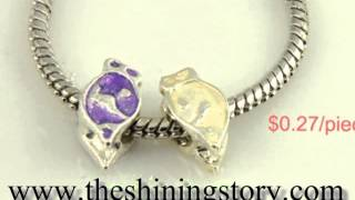 Wholesale Pandora style charm beads fit bracelets, how to buy Pandora beads and charms, troll beads