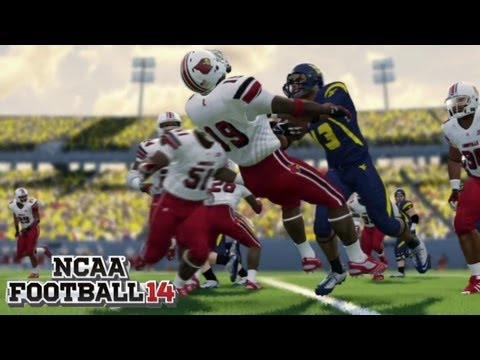NCAA Football 14 - Gameplay First Look Trailer with Impressions