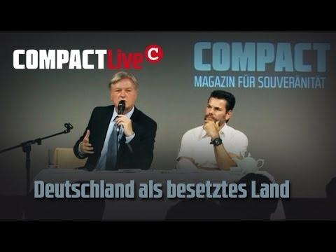 """""""Deutschland als besetztes Land - Snowden, NSA und Merkel"""" COMPACTLive 8/2013"""
