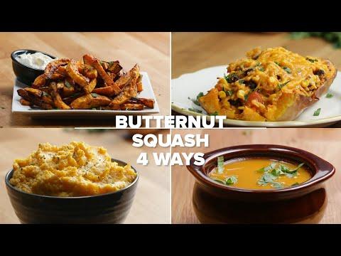 Butternut Squash 4 Ways