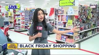 Black Friday shopping underway at Target