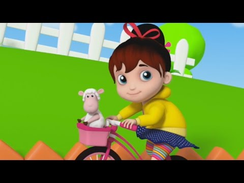 Mary Had A Little Lamb | Nursery Rhymes | Kids Songs