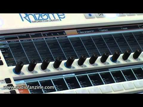 FeelTune Rhizome Video Demo [NAMM 2011]