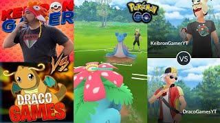 DRACO VS KEIBRON !! COMBATES ÉPICOS (PvP) - Pokemon Go