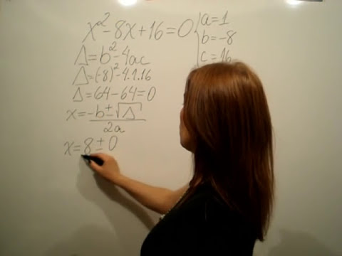 Equação do 2º grau 2010 - aula 1 - Fórmula de Bhaskara