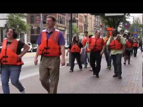 Pittsburgh Corps takes to the streets for water safety