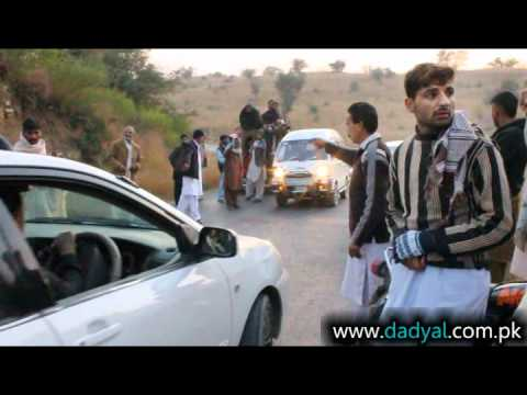 Accident in Surakhi Village of Dadyal; Motor Bike and Car Accident