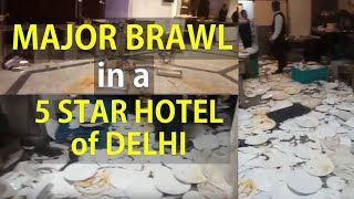 Major Brawl, Huge Fight in Delhi's 5 Star Hotel ! The Piccadilly, Janakpuri ! Subscribe SNN TV INDIA