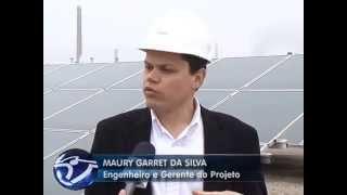 Usina Solar Cidade Azul já está em funcionamento