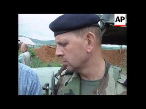 KOSOVO: RUSSIAN TROOPS STANDOFF WITH NATO TROOPS (3)