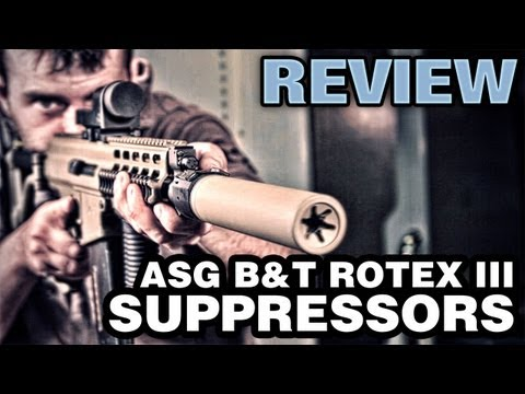 ASG B&T Rotex III Airsoft Suppressor Silencer - EpicAirsoftHD Review