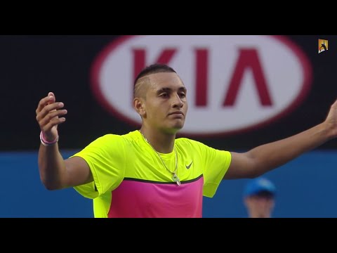 Kyrgios v Seppi: What a rally - Australian Open 2015