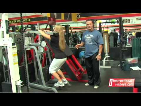 Instructional Fitness - Standing Calf Raises Image 1