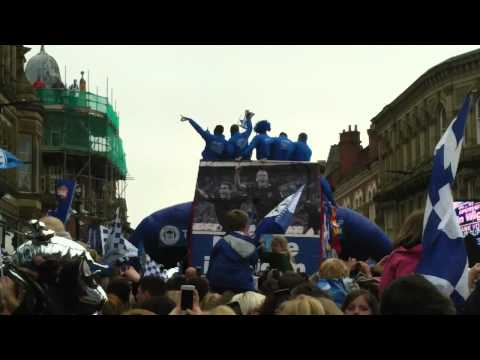 Wigan Athletic FA Cup Winners 2013 Parade - Arouna Kone