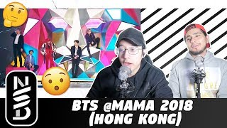 GUYS REACT TO BTS @MAMA 2018 (HONG KONG) 'Intro + Airplane Pt.2 + IDOL'