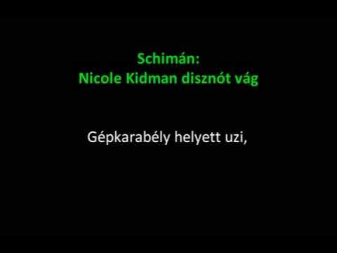 Schimán - Nicole Kidman disznót vág
