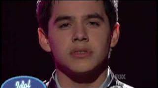 Watch David Archuleta And So It Goes video