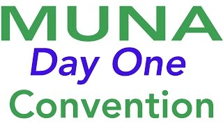 MUNA CONVENTION 2015 | DAY 1