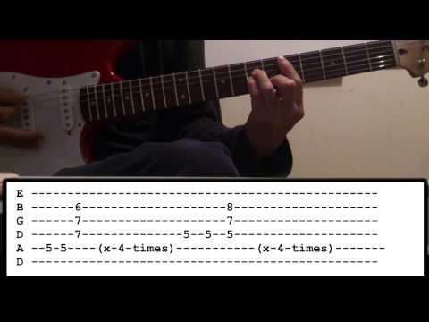 Muse - Reapers - Guitar Lesson
