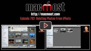 Deleting Photos From iPhoto (MacMost Now 792)