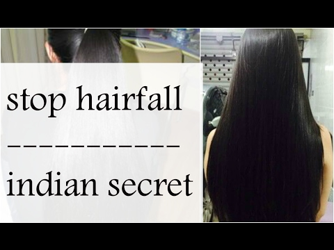 Stop hairfall in 3 days |get shiny silky hair| amla retha sikaakai