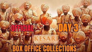 KESARI BOX OFFICE COLLECTION DAY 4 | INDIA | AKSHAY KUMAR