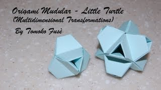 Origami Mudular - Little Turtle (multidimensional Transformations)
