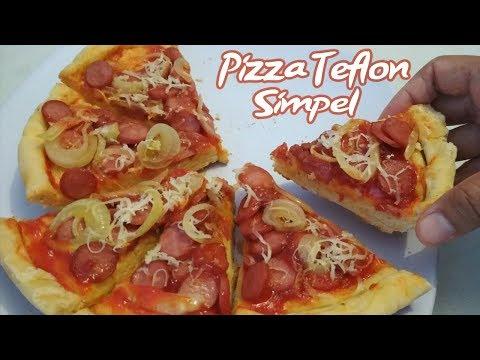 Cara Membuat Pizza Empuk Paling Mudah Tanpa Oven Anti Gagal
