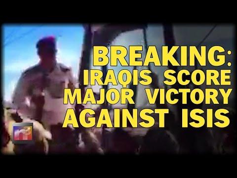 BREAKING: IRAQIS SCORE MAJOR VICTORY AGAINST lSlS RETAKING KEY COMMAND CENTER