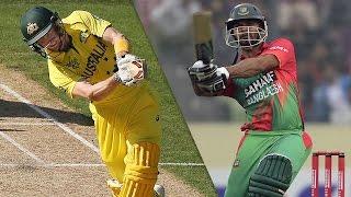 Australia vs Bangladesh Cricket World Cup FULL HD 1080
