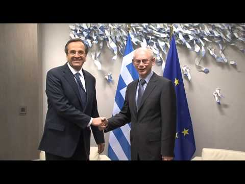 Meeting with the Prime Minister of Greece, Antonis SAMARAS