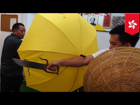 Umbrella As A Defensive Weapon: To Only Be Used In A Tight Spot According To Kung Fu Master video